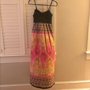 Anthropologie maxi summer dress, XS, Pinkerton